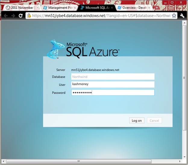 sql-azure-management-portal